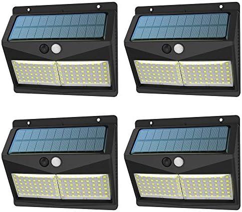 Luz Solar Exterior, 【3 Modos 108 LED - Super Brillante ...