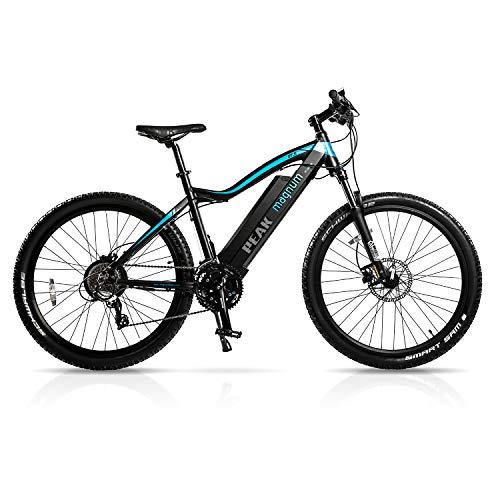 Magnum Peak Premium Electric Mountain Bike - 500-700W Motor - Large Capacity 48V13A - Lithium Battery -29