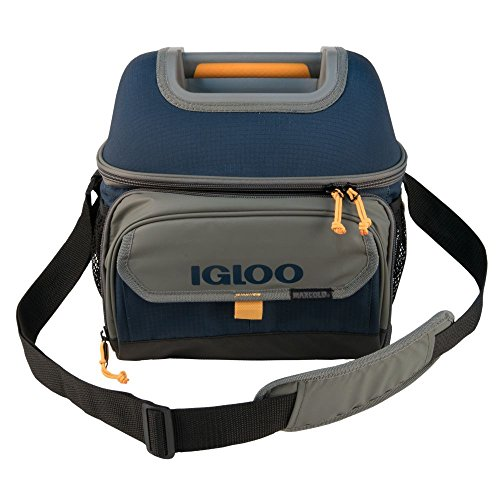 Igloo Outdoorsman Hardtop Gripper 22-Slate Blue/Tan, Blue