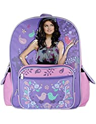 Wizards of Waverly Place Alex Russo Large School Backpack- Spell Bound