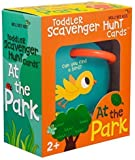 Outdoor Toddler Scavenger Hunt Cooperative Card Game at The Park