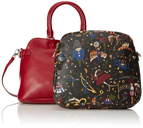 Piero Guidi Magic Circus Pelle Borsa Tote, 33 cm, Carcade'