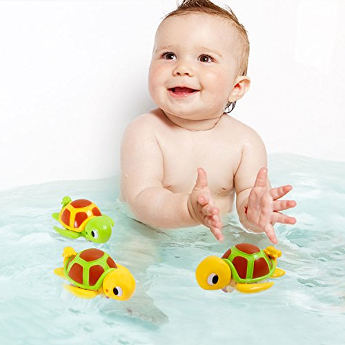 sgile swimming turtle floating bathtub bath toy for kids baby bathing tub pool toy 4 in 1. Black Bedroom Furniture Sets. Home Design Ideas