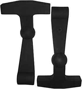 BEAST COOLER ACCESSORIES 2-Pack of Replacement Lid Latches Compatible with Yeti Hard Coolers - Larger, More Durable, Ergonomically Improved Design That Fit on All Yeti Tundra and Roadie Coolers