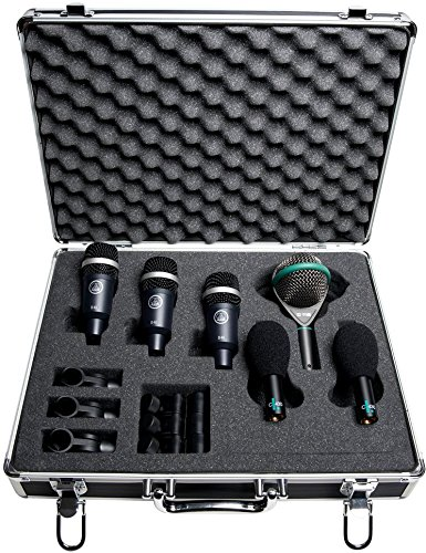 Akg Kick Drum - AKG Pro Audio Rhythm Pack Professional Drum Microphone Set