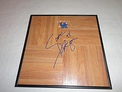 Scott Padgett Signed Framed 12x12 Floorboard Kentucky Wildcats - Autographed College Floorboards