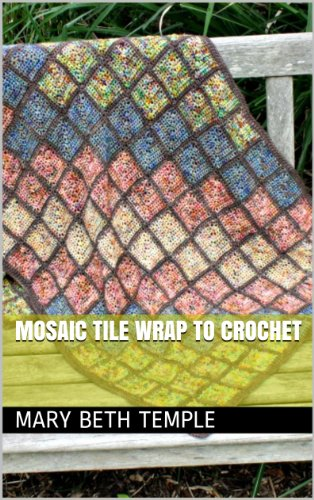 Mosaic Tile Wrap to Crochet