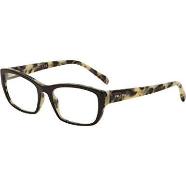 fe9abc97bc Image Unavailable. Image not available for. Color  Prada PR18OV Eyeglass  Frames ...