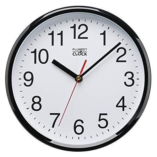 - Plumeet Silent Wall Clock, 10