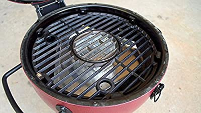 BBQube Heat Deflector/ Drip pan for Akorn Kamado Jr. Charcoal Grill from Bestem USA