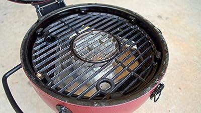 BBQube Heat Deflector/ Drip pan for Akorn Kamado Jr. Charcoal Grill from Bestem USA