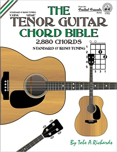 Amazon.com: The Tenor Guitar Chord Bible: Standard and Irish Tuning ...