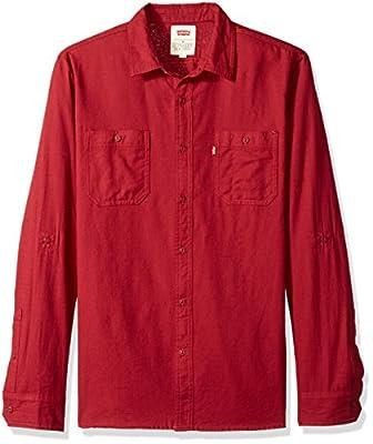 Levi's Men's Chalk Cotton Button Down Shirt
