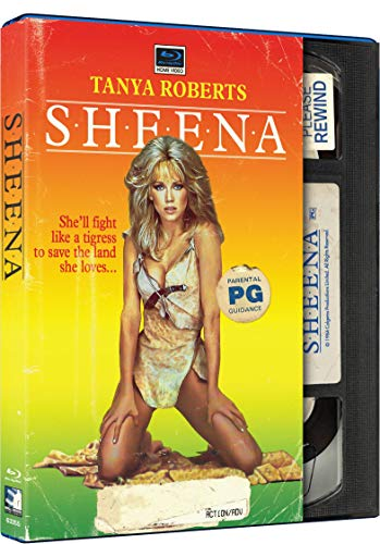 Sheena - Retro VHS Style [Blu-ray]