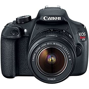 Canon Eos Rebel T5 Digital Slr Camera Kit With Ef-s 18-55mm Is Ii Lens 4