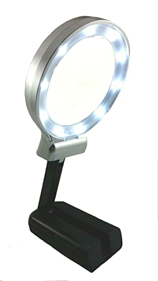 Amazoncom Magnifying Glass 3X 45X Magnifier with LED lights