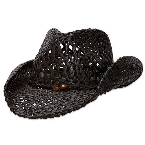 Peter Grimm Ford Straw Drifter (Black)