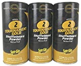 3 Pack Sun-Glo #2 Speed Shuffleboard Powder Wax