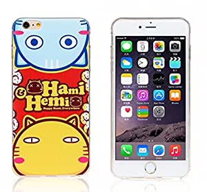 ZZQ iPhone 5 Case. iPhone 5S/5G cover. Cute Cartoon Hami cat Soft TPU Hybrid Case Cover Skin for Apple iPhone 5 5G 5S (Style -006)