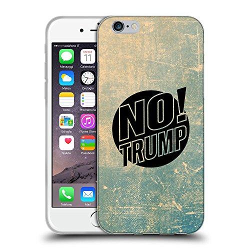 """Super Galaxy Coque de Protection TPU Silicone Case pour // Q04160512 Plus de trump grunge // Apple iPhone 6 4.7"""""""