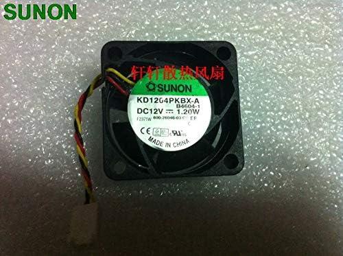 Original Sunon kd1204pkbx-a B4604-3 12v 1.2w 4cm 4020 dual ball axial cooling fan