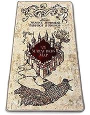 Groovy Harry Potter tapijt voor binnen, kaart van de rumdriver 76 x 133 cm