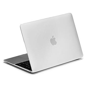 lention Funda rígida con Puertos Compatible MacBook (Retina, 12 Pulgadas, 2015 2016 2017) - Modelo A1534, Estuche de Acabado Mate con pies de Goma ...