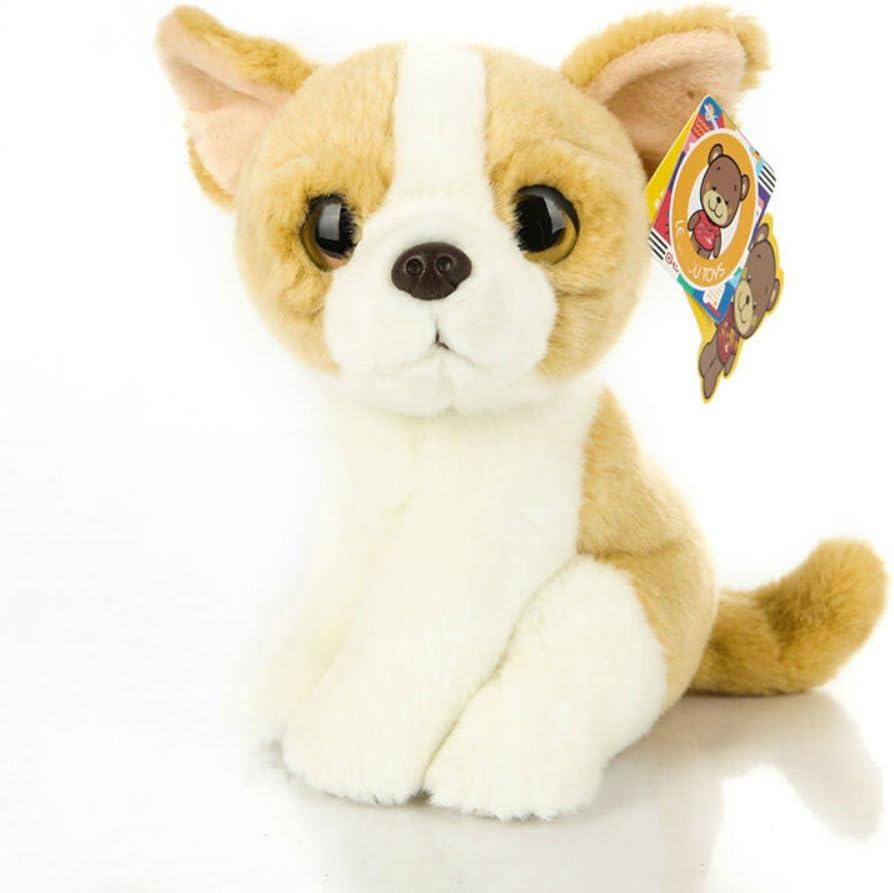 9 inch Chihuahua Plush Toy Stuffed Animal Toy Plush Animal Doll