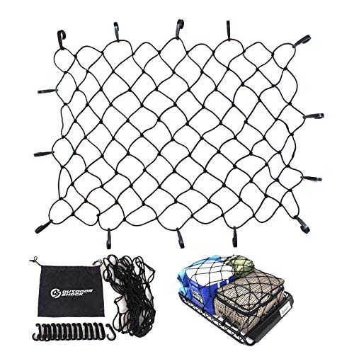 Cargo Net by Outdoor Shock - Heavy Duty 47