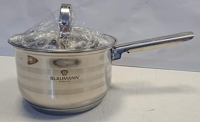 Top blaumann bl-3152 Línea Acero Inoxidable Profesional, Olla cilíndrica con Mango Individual diámetro 16,5 x 11 cm 1,7 L Shop Olla con Tapa: Amazon.es: ...