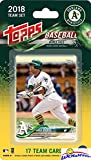 Oakland Athletics 2018 Topps Baseball EXCLUSIVE Special Limited Edition 17 Card Complete Team Set with Khris Davis, Dustin Fowler RC & Many More Stars & Rookies! Shipped in Bubble Mailer! WOWZZER!