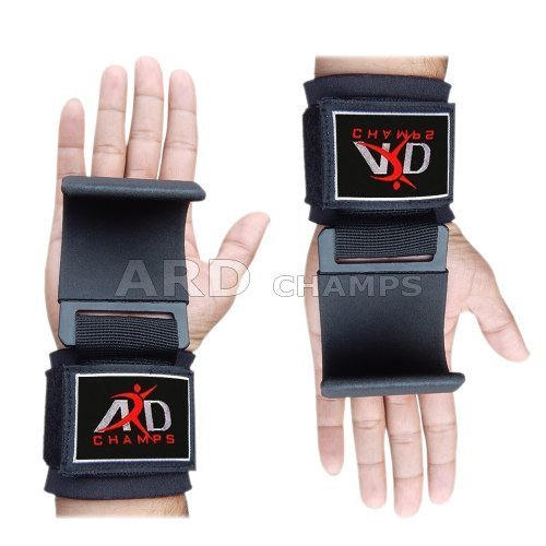 ARD Power Weight Lifting Training Gym Straps Hook Bar Wrist Brace by ARD-Champs