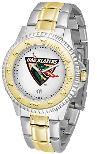 UAB Blazers Competitor Two-Tone Men's Watch