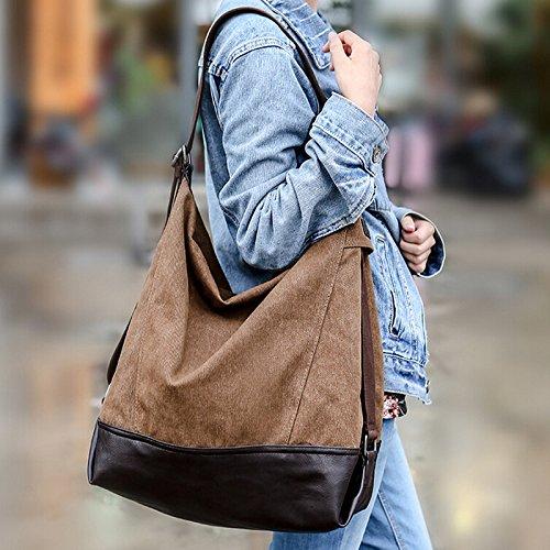 Pairs D - Bolso mochila  para mujer marrón marrón large