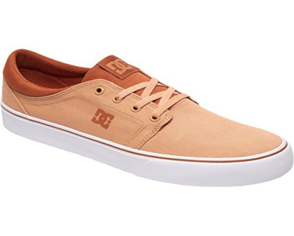 DC Men's Trase TX Unisex Skate Shoe B0758TF884 12 D D US|Tobacco/Cobblestone