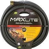 Swan Products Element CELSGC58100 MAXLite Premium Rubber Heavy Duty Water Hose 100 ft, 5/8'' Diameter, Black