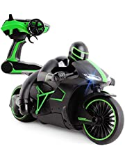 deAO RC Grand Prix Moto GP Racing Bike on Small Scale High Speed and Great Performance Includes Rechargeable Battery and Charger