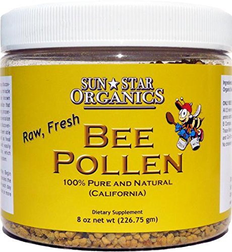 Raw Bee Pollen (5lb) by Sun Star Organics
