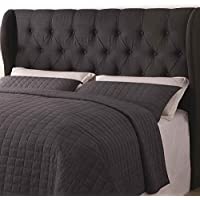 Traditional Headboard with Button Tufting (Queen - 64.5 in. W x 8.5 in. D x 53 in. H)