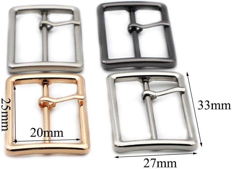 Nsiwem Hebillas de Rodillo de Metal 30 Piezas Hebilla de Metal Hebilla para Cintur/ón para Bolsos Hebilla de Perno Hebillas de Rodillo de Metal 3 Colores 25 mm para Bolsos Correa de Piel Bricolaje