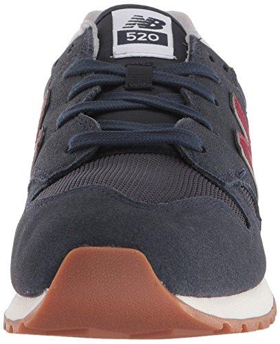 Baskets New Bleu Daim en 520 Bleu Balance Homme OFnU6WrtF