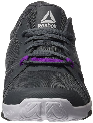 Reebok Grey Women's Shoes Grey Violet Trainflex Fitness Skull Vicious Lite White Alloy HHdwqvr