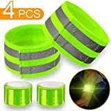 4-pcs-Reflective-Bands-for-Wrist-Arm-Ankle-Leg-High-Visibility-Reflective-Gear-for-Night-Walking-Cycling-and-R