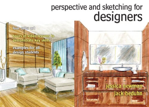 Perspective and Sketching for Designers Plus MyInteriorDesignKit with Pearson eText -- Access Card Package (Fashion Seri