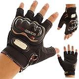 Motorcycle Gloves Pro biker half finger Racing motocross motorbike motocicleta guantes gloves Men Dirt luvas para moto eldiven L