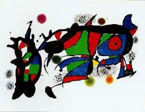 Obra De Joan Miro by Joan Miro 28x39 Art Print (Obra Joan Miro)
