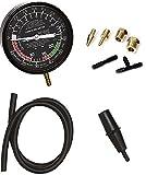 Carburetor Valve Fuel Pump Pressure & Vacuum Tester Gauge Test Kit Car & Truck
