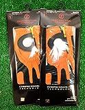 2 Zero Friction Men's Left Hand Universal Golf Gloves - Miami Dolphins - Orange