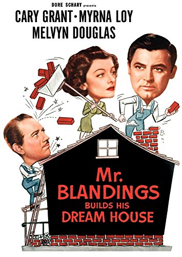 Posterazzi Mr. Blandings Builds His Dream House Melvyn Douglas Myrna Loy Cary Grant 1948 Movie Masterprint Poster Print (11 x 17)