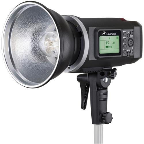 Flashpoint XPLOR 600 HSS Battery-Powered Monolight with Built-in R2 2.4GHz Radio Remote System (Bowens Mount) by Flashpoint